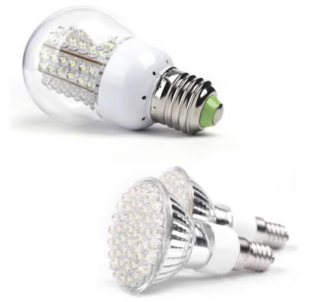 sparepærer og LED tilskud